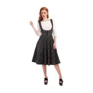 Collectif Retro Swing Natalia Check Plaid Skirt XS